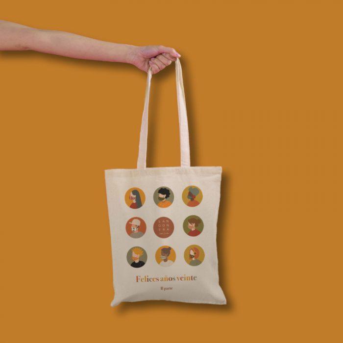 Tote Bag Felices años 20, Sangonera Design