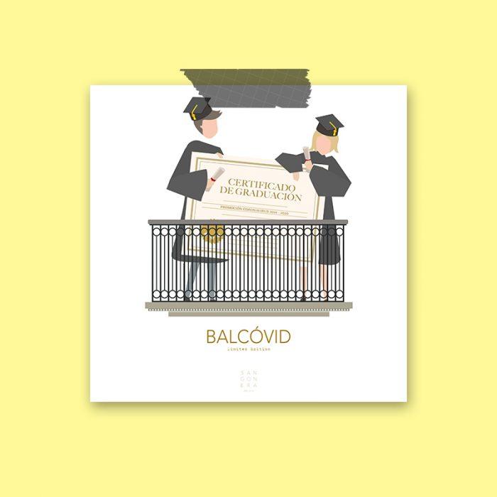 Graduación en balcón, Ilustración, Sangonera Design