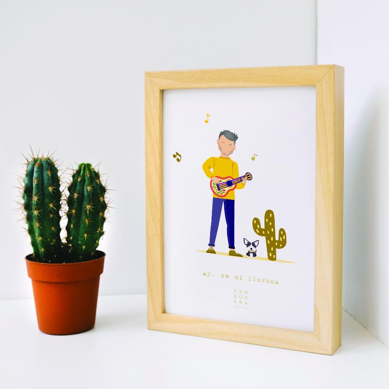 Ilustraciones Personalizadas, Sangonera Design
