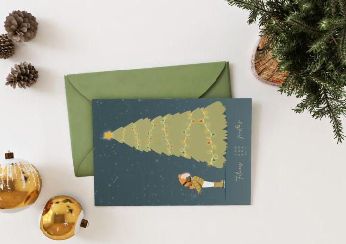 Postal Reyes Magos, Sangonera Design